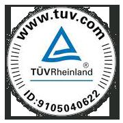 ALDERS ist zertifiziert vom TÜV Rheinland