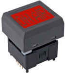 NKK Switches Displaytaster 64x32 LCD Pushbutton Short Travel alders