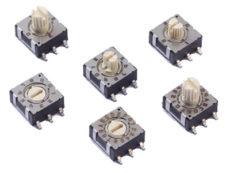 CTS Electrocomponents Drehschalter 220 Serie alders