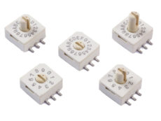 CTS Electrocomponents Drehschalter 221 Serie alders