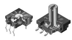 NKK Switches Drehschalter FR Serie alders