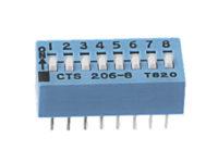 CTS Electrocomponents Schiebeschalter206/208 Serie alders