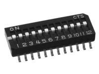 CTS Electrocomponents Schiebeschalter 2018 Serie alders