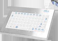 CTI Electronics KIO76U6 medizinische Tastatur / Medical Keyboard alders